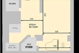ebisuta room 1F図面